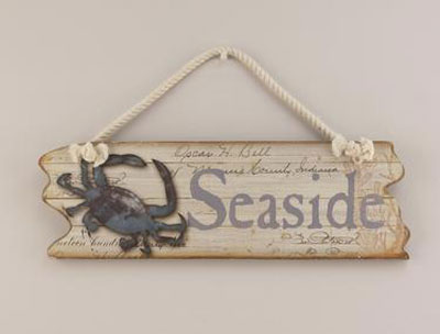 Seaside Wall Plaque