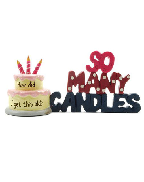 So Many Candles with Birthday Cake, by Blossom Bucket