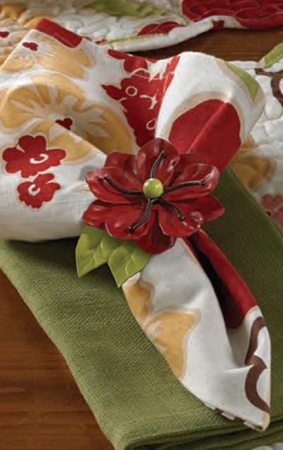 Poppy Napkin, by Park Designs