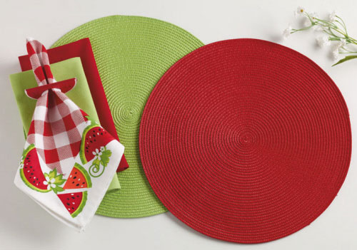 Braided Indoor/Outdoor Placemat, by DII