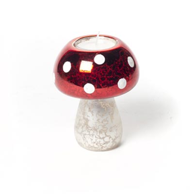 Small Mushroom Tealight, by the Abbott Collection