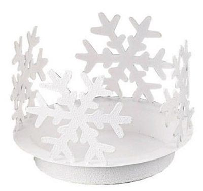 Snowflake Votive Candle Pan, by Park Designs