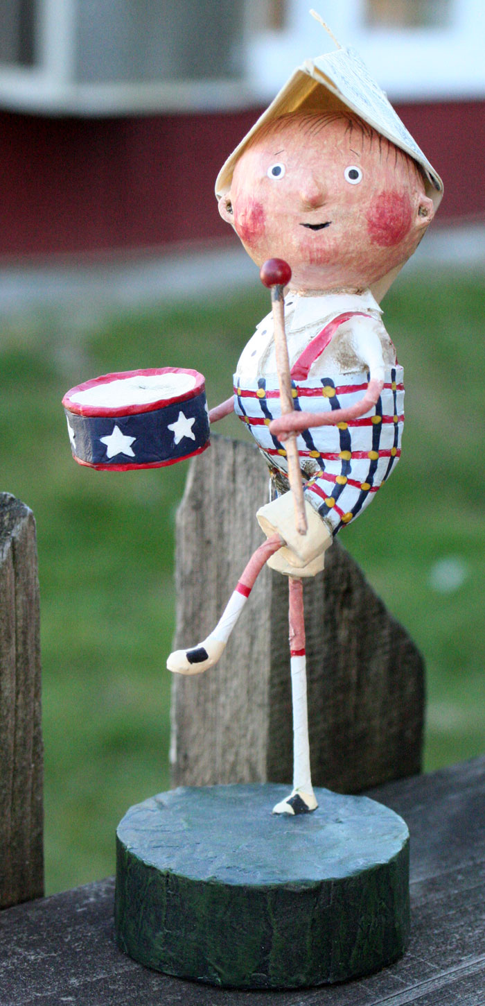 Little Patriotic Boy, by Lori Mitchell for ESC