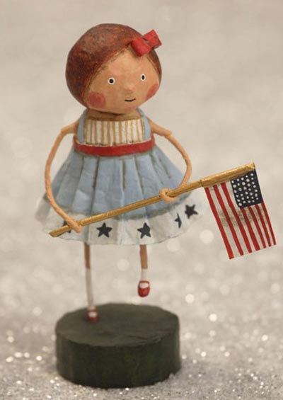 Little Betsy Ross, by Lori Mitchell for ESC