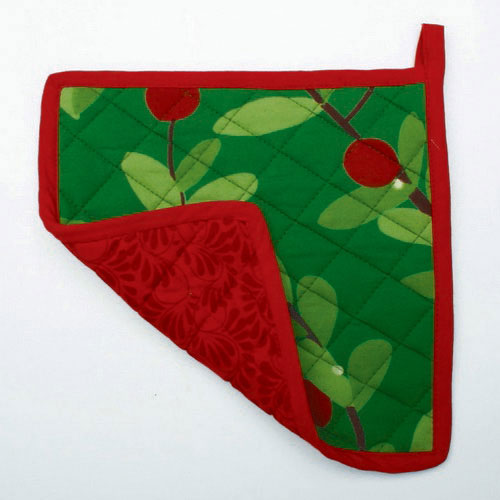 Cranberries Jardin Pot Holder, by Tag