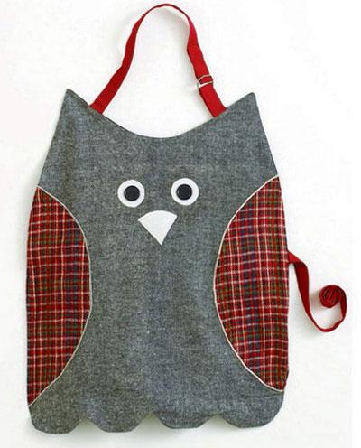 Owl Kid\'s Apron