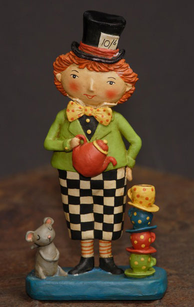 Teatime Mad Hatter, by Jenene Mortimer