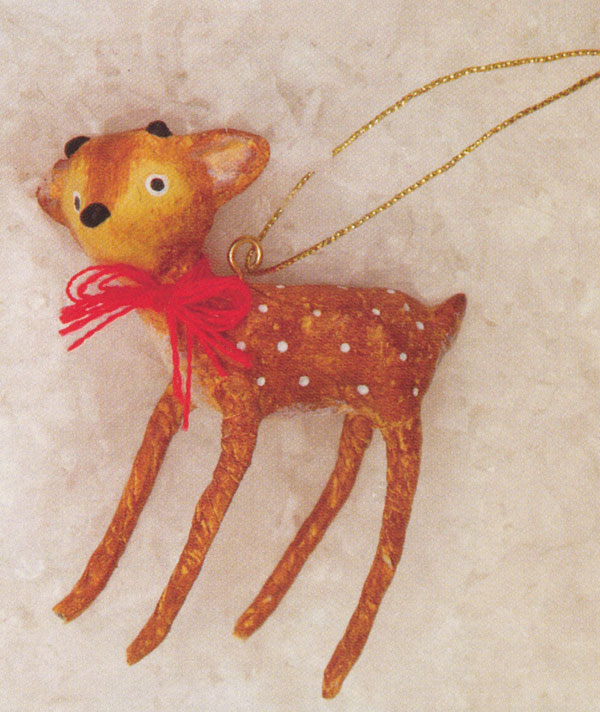 Baby Reindeer Ornament, by ESC Trading Company