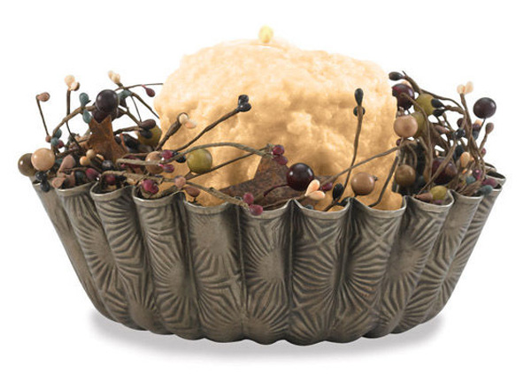 Cake Mold Candle Pan, by Park Designs