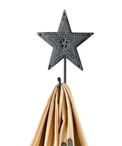 Black Star Single Hook, by Park Designs