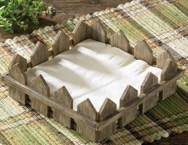 Herb Garden Lunch Napkin Holder