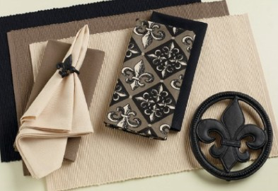 French Taupe Napkin, by DII.
