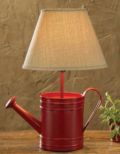 Watering Can Lamp