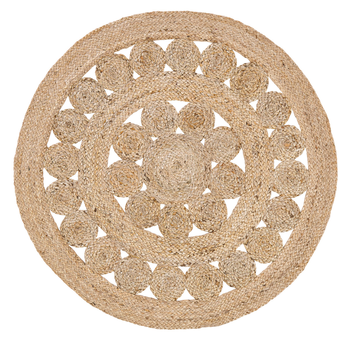 Celeste Round 3 Foot Jute Rug By Vhc Brands The Weed Patch