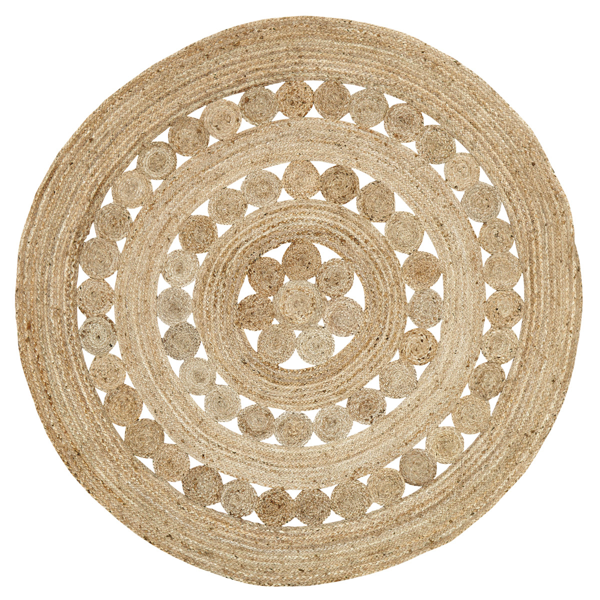 Celeste Round 6 Foot Jute Rug By Vhc Brands The Weed Patch