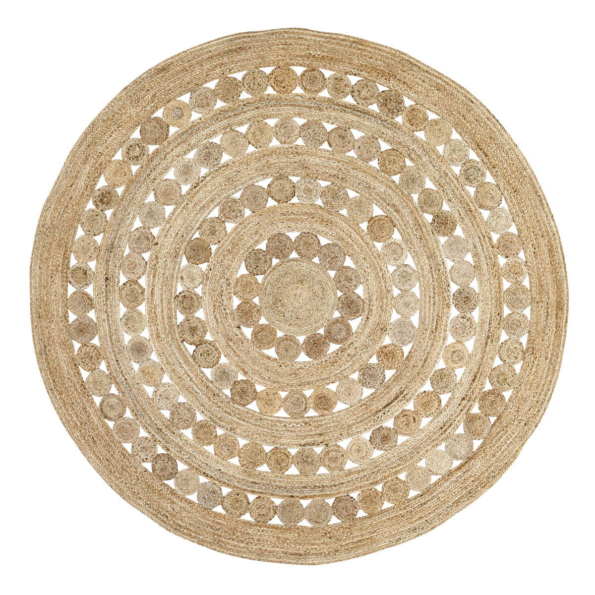 Celeste Round 8 Foot Jute Rug By Vhc Brands The Weed Patch