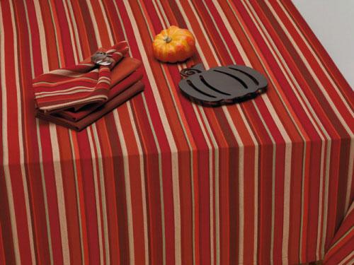 Harvest Pumpkin Stripe Napkin, by DII