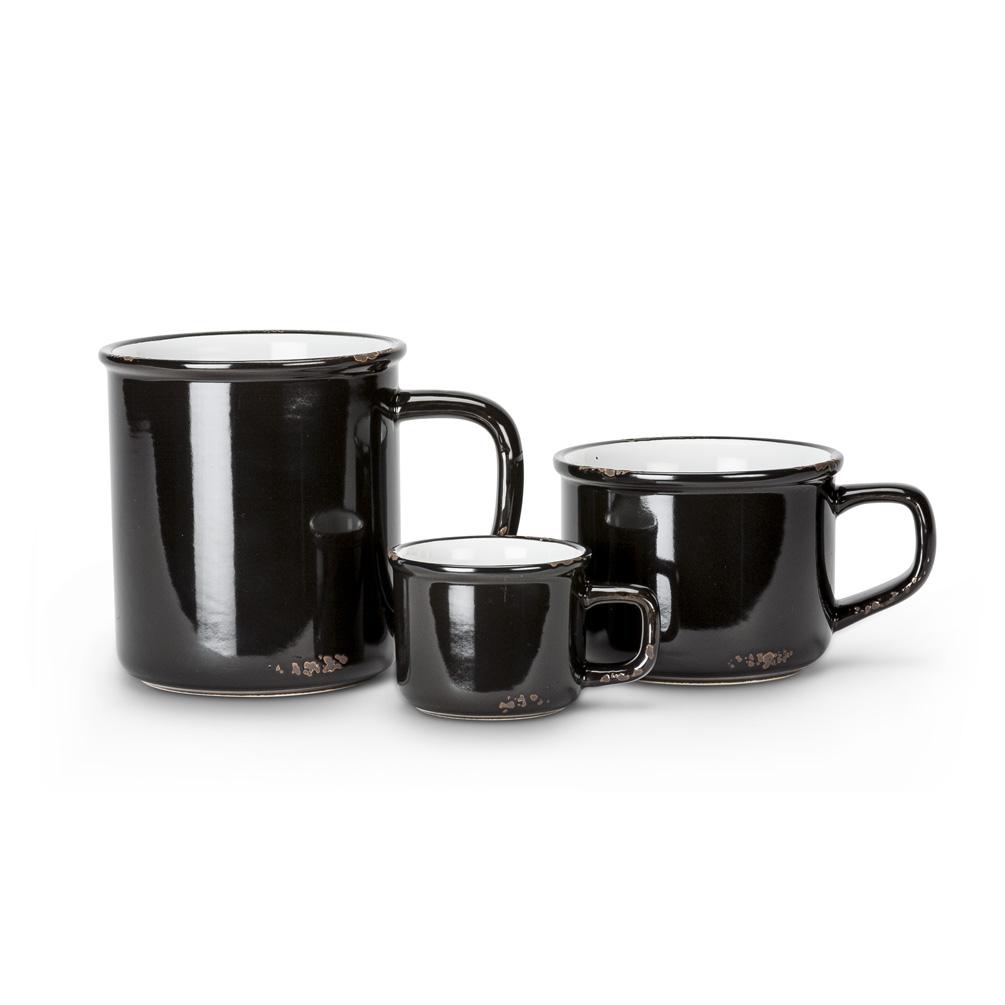 Black Stoneware Enamel