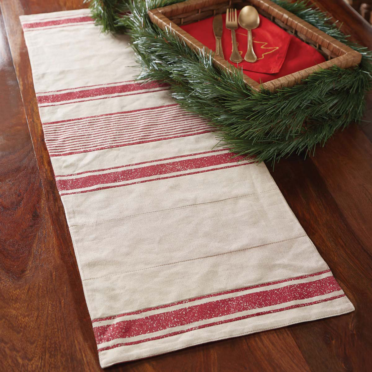 sebastian farmhouse christmas 36 inch table runner the weed patch. Black Bedroom Furniture Sets. Home Design Ideas
