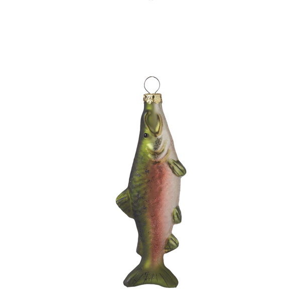 Coho Salmon Ornament, by Seasons of Cannon Falls