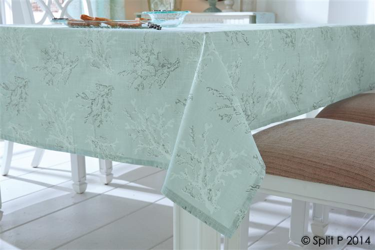 ... Seychelles Aqua Tablecloth, ...