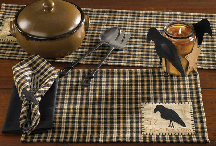 Olde Crow Napkin, by Park Designs