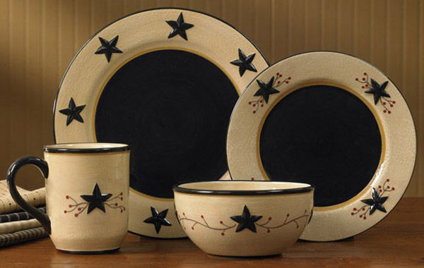 Star Vine Dinnerware, by Park Designs
