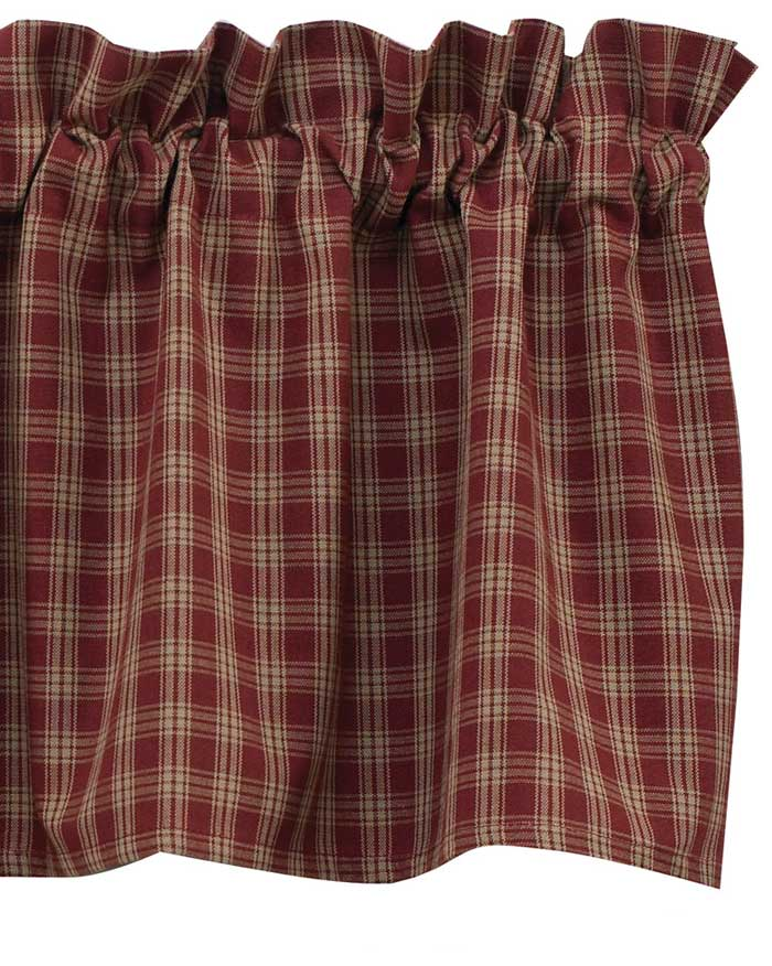 Sturbridge Valance, Red