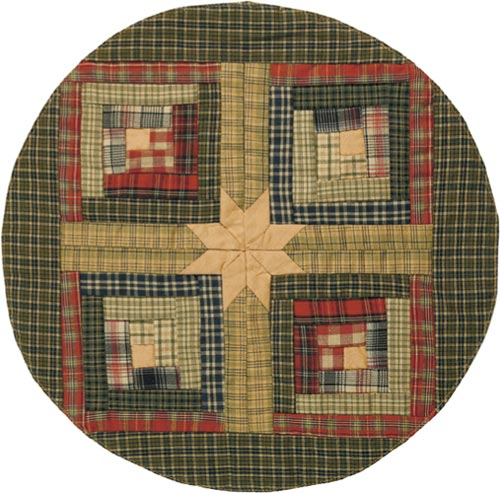 Tea Cabin Tablemat, by Victorian Heart