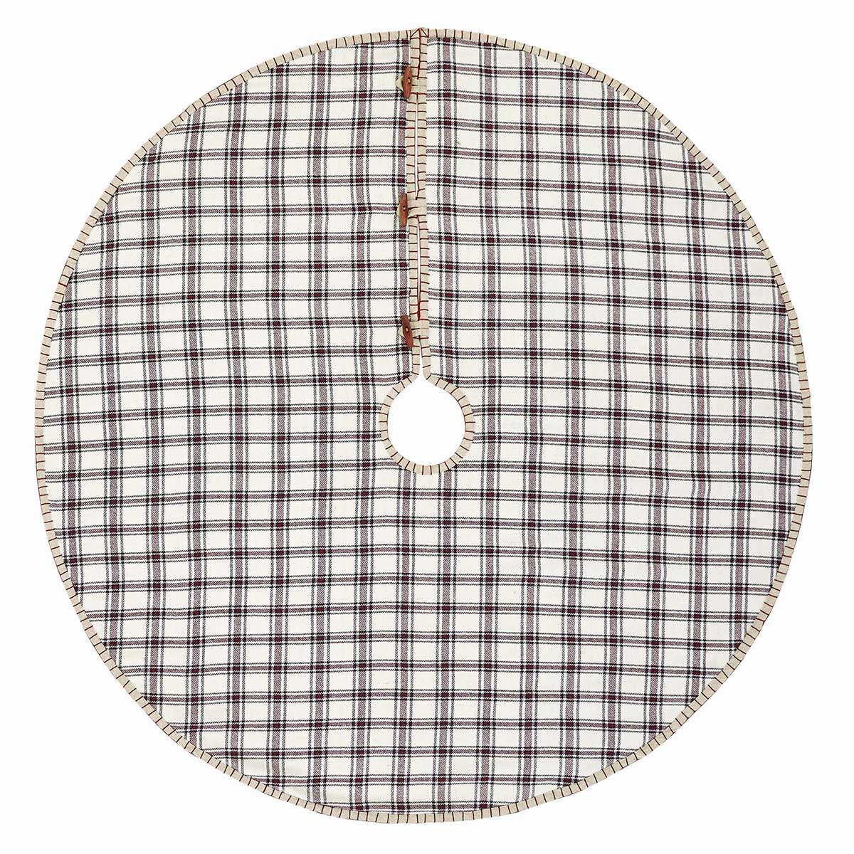 Amory Christmas Tree Skirt, by VHC Brands