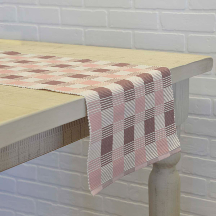 Daphne Pink 90 Inch Table Runner Daphne Collection