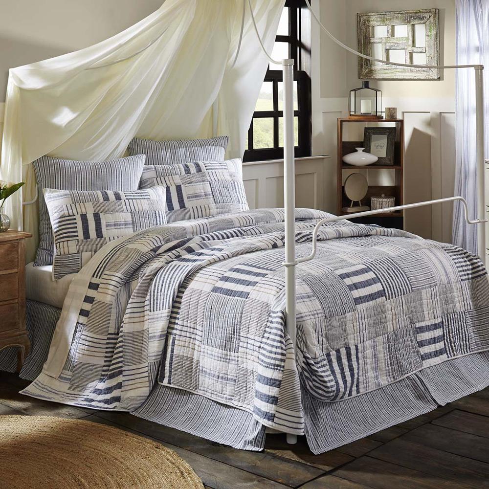 Finn Bed Skirt, by VHC Brands