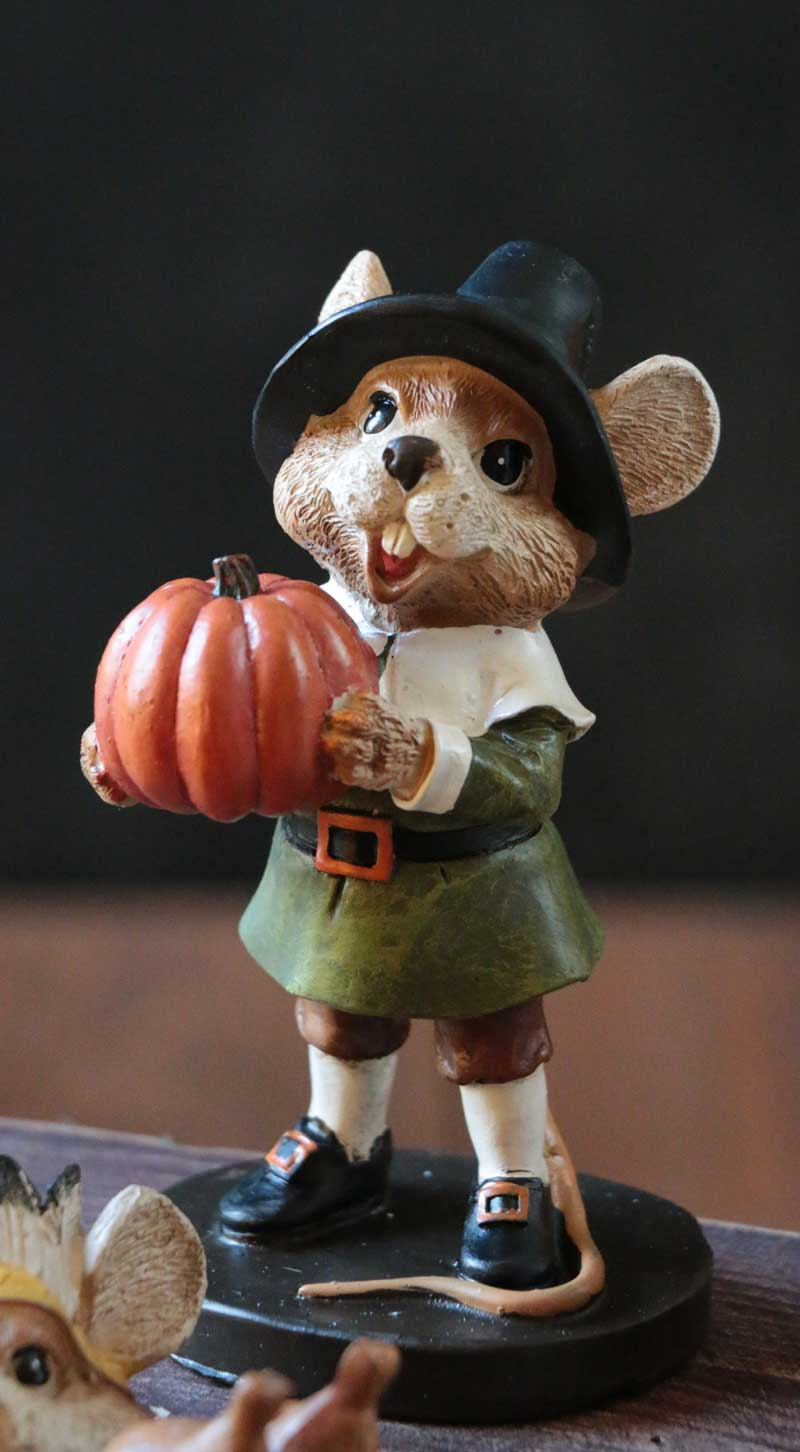 Pilgrim Indian Mouse By Raz Imports The Weed Patch