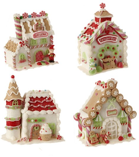 ngerbread Candy House, by Raz Imports.