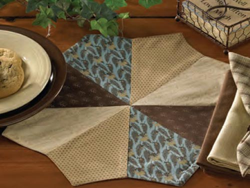 Scrapbook Round Placemat