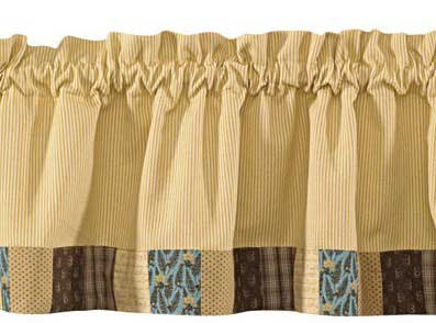 Scrapbook Border Valance, by Park Designs