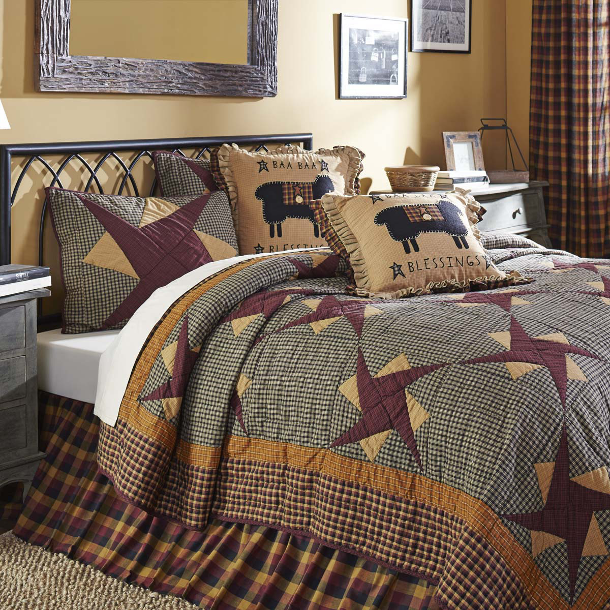 Folkways Quilt Set by VHC Brands