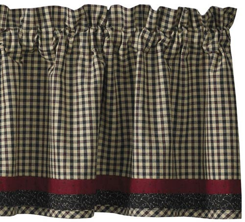 Federal Star Valance, by Park Designs