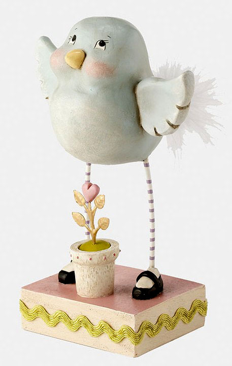 Sweet Treats Bird Gardening Figurine, a Janelle Berryman design