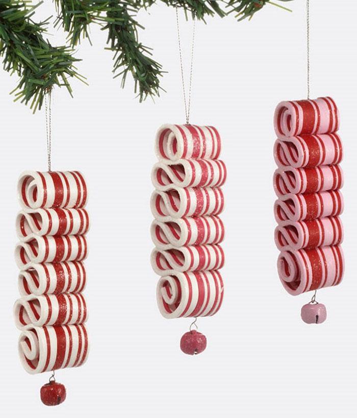 Ribbon Candy Ornament