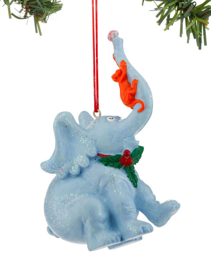 Horton & Monkey Ornament, by Department 56 / Enesco