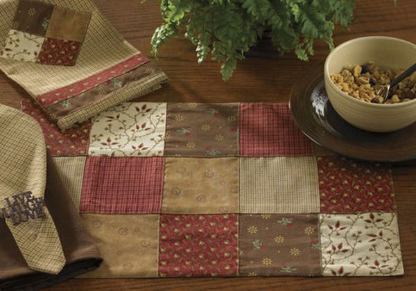 Grandma\'s Quilt Placemat, by Park Designs