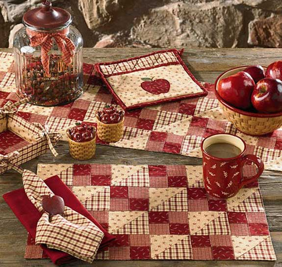 Apple Jack Placemat