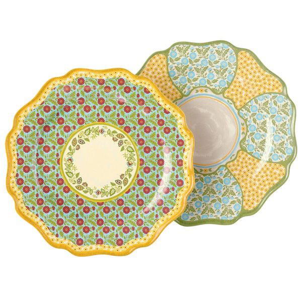 Outdoor Gatherings Melamine Dinner Plate, by Grasslands Road
