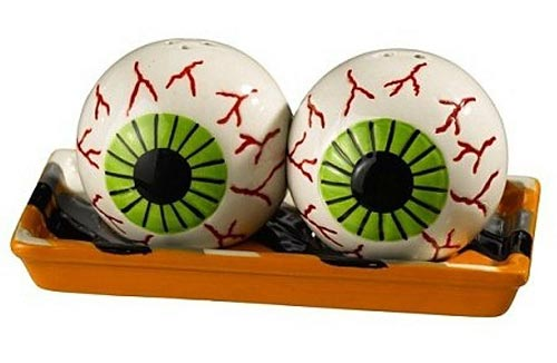 Eyeball Salt and Pepper Shaker Set, by Grassland\'s Road