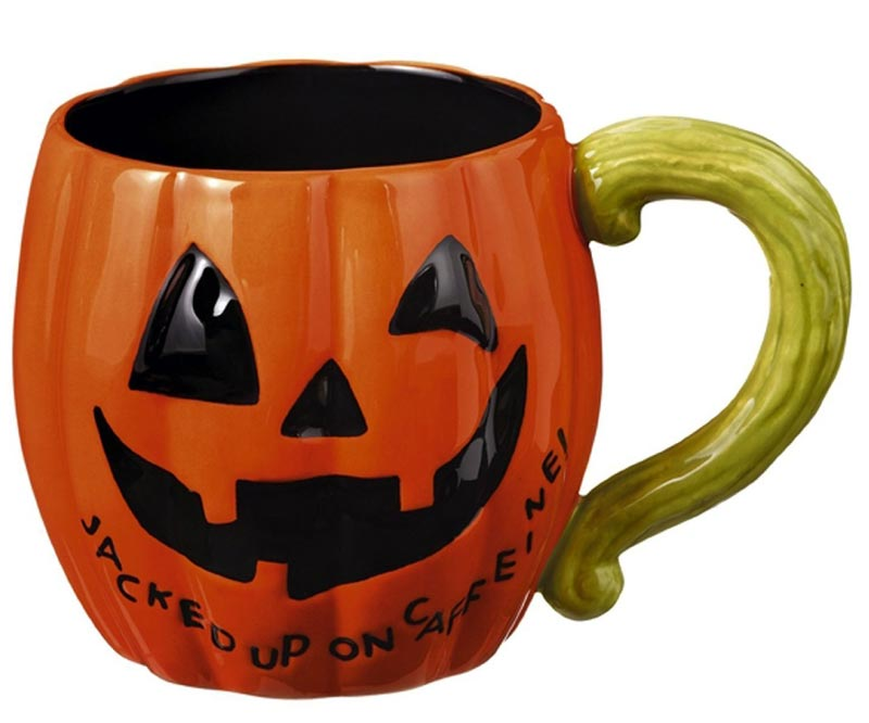 Jacked up halloween mug by grassland 39 s road the weed patch for Grasslands road mugs