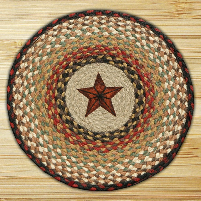 Star Braided Jute Chair Pad By Capitol Earth Rugs The