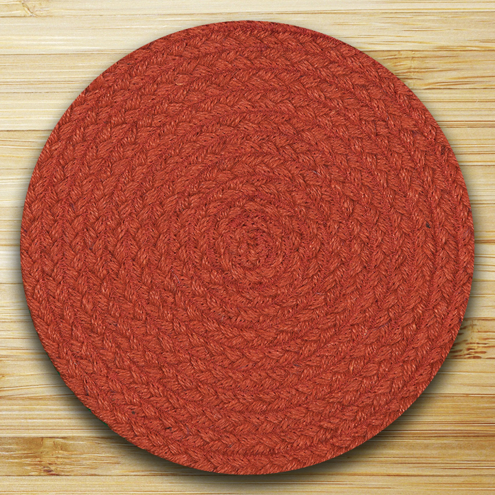 Fiesta Blue Paprika Tablemat, By Capitol Earth Rugs