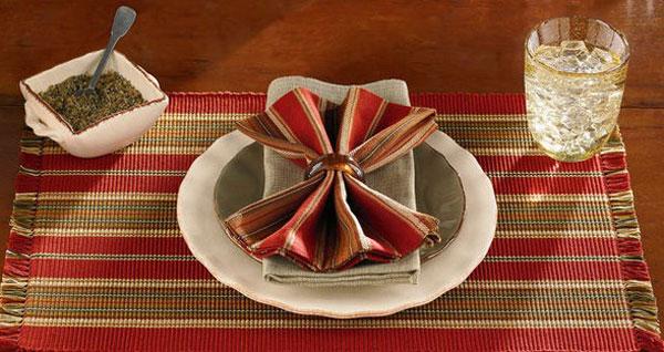 Cinnabar Dishtowel, by Park Designs