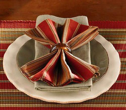 Cinnabar Napkin, by Park Designs